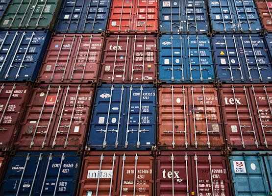 Spedizione container